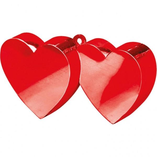 Ballongewicht Doppelherz Rot 170g/6oz