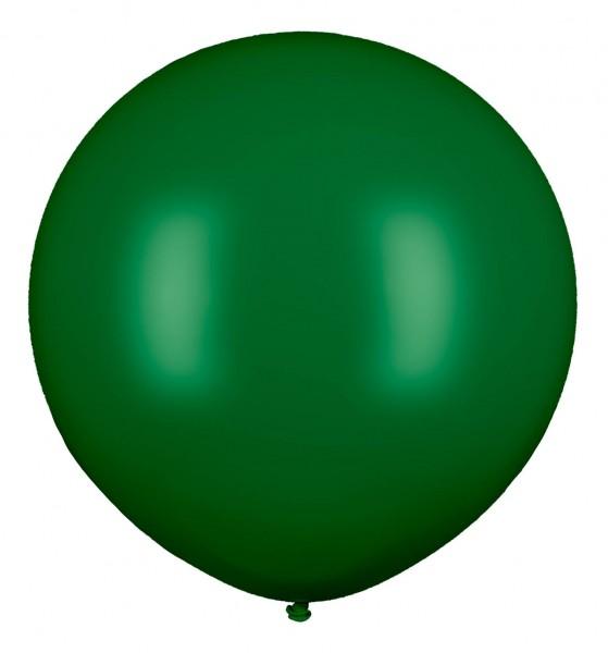 Riesenluftballon, Dunkelgrün, 210cm Ø