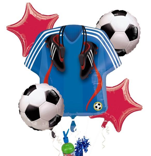 "Folienballon Helium Set ""Fußball"""