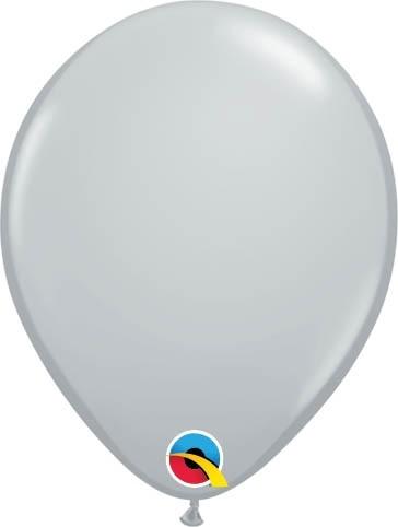 "Qualatex Latexballon Fashion Gray 13cm/5"" 100 Stück"
