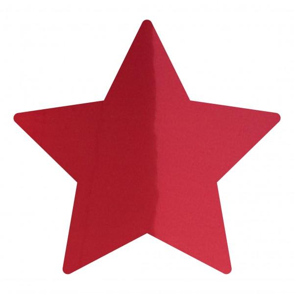 Goodtimes Folienkonfetti 1,7cm Stern 100g Rot