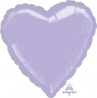 "Anagram Folienballon Herz Metallic Pearl Pastel Lilac 45cm/18"""