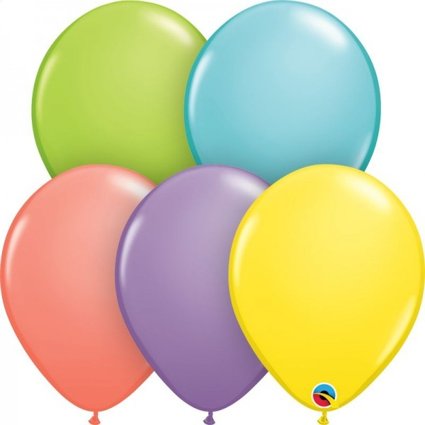 "Qualatex Latexballon Sorbet Assortment 28cm/11"" 100 Stück"