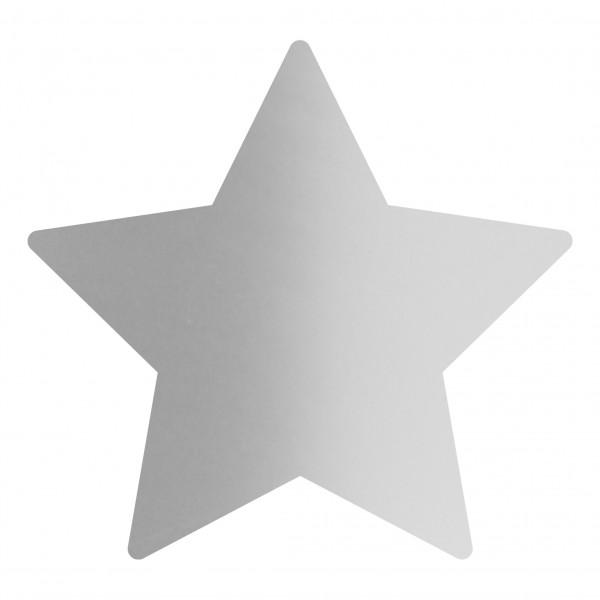 Goodtimes Folienkonfetti 1,7cm Stern 1kg Satin Silber