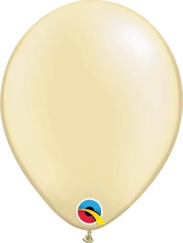 "Qualatex Latexballon Pastel Pearl Ivory 13cm/5"" 100 Stück"