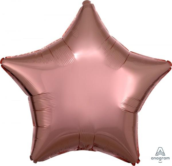 """Anagram Folienballon Stern Rose Gold 50cm/20"""""""