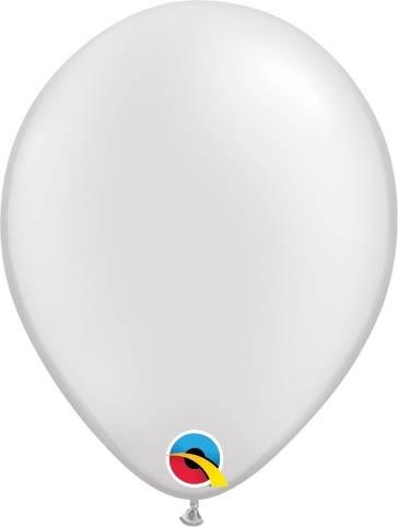 "Qualatex Latexballon Pastel Pearl White 13cm/5"" 100 Stück"