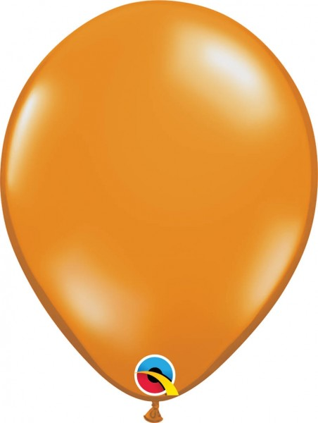 "Qualatex Latexballon Jewel Mandarin Orange 28cm/11"" 100 Stück"