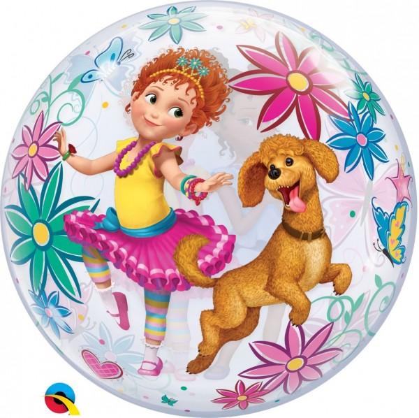 "Qualatex Bubbles Disney Fancy Nancy Clancy 55cm/22"""