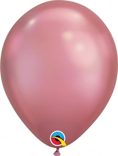 "Qualatex Latexballon Chrome Mauve 28cm/11"" 25 Stück"