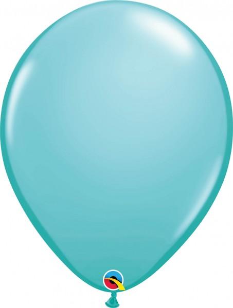 """Qualatex Latexballon Fashion Caribbean Blue 40cm/16"""" 50 Stück"""