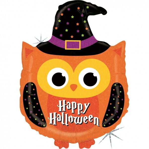 """Betallic Folienballon Halloween Owl 81cm/32"""""""