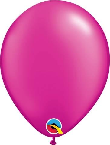 "Qualatex Latexballon Radiant Pearl Magenta 13cm/5"" 100 Stück"