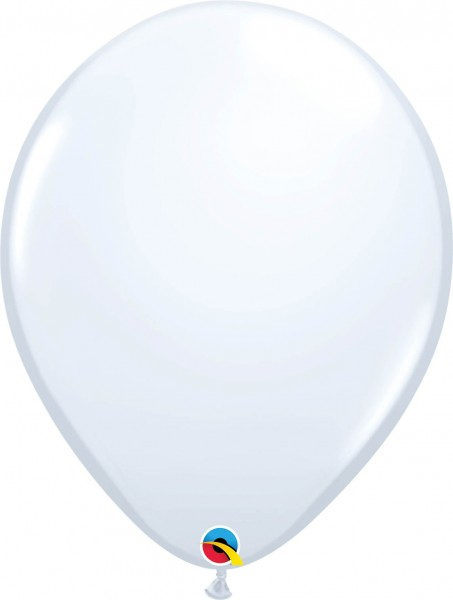 "Qualatex Latexballon Standard White 40cm/16"" 50 Stück"