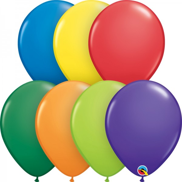 "Qualatex Latexballon Carnival Assortment 28cm/11"" 100 Stück"