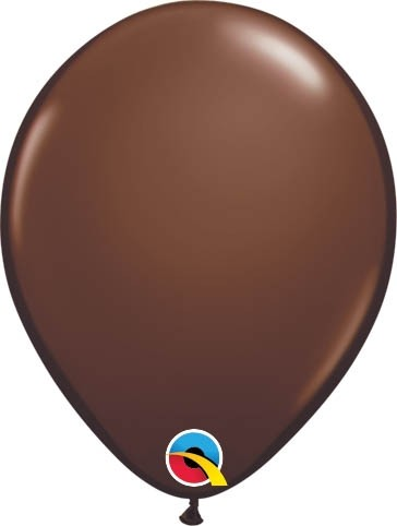 "Qualatex Latexballon Fashion Chocolate Brown 13cm/5"" 100 Stück"