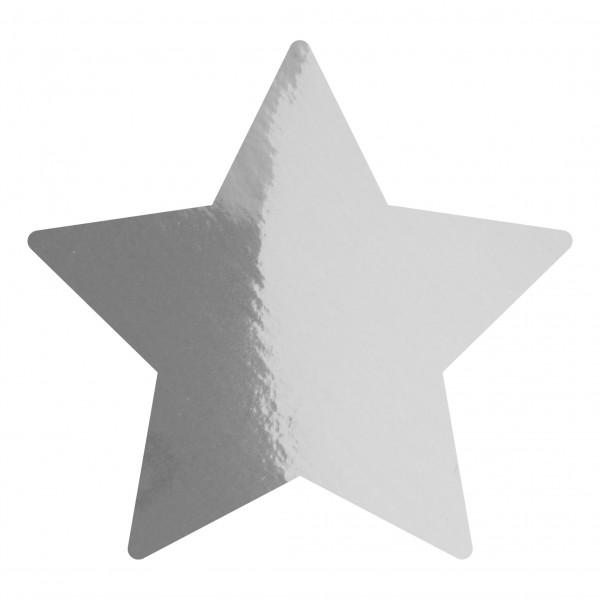 Goodtimes Folienkonfetti 1,7cm Stern 1kg Silber