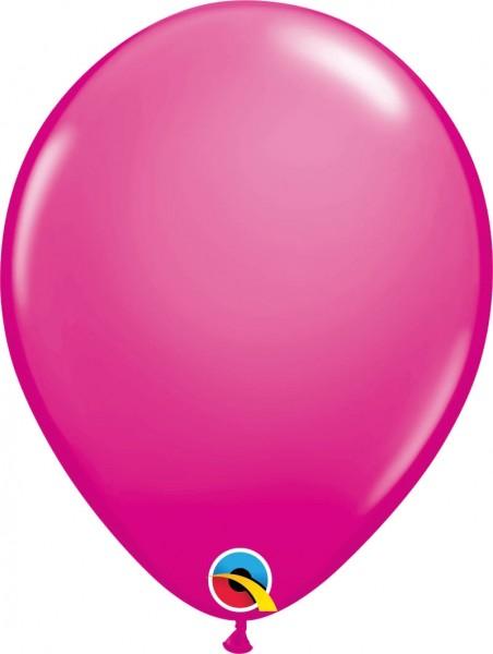 "Qualatex Latexballon Fashion Wild Berry 28cm/11"" 100 Stück"
