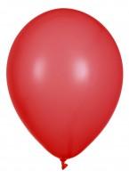"Globos Luftballons Rot Naturlatex 30cm/12"" 10er Packung"