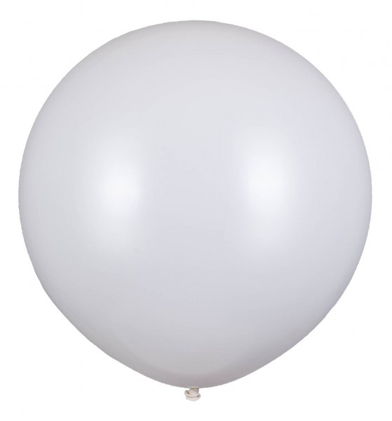 Riesen Ballon, Weiß, 160cm Ø
