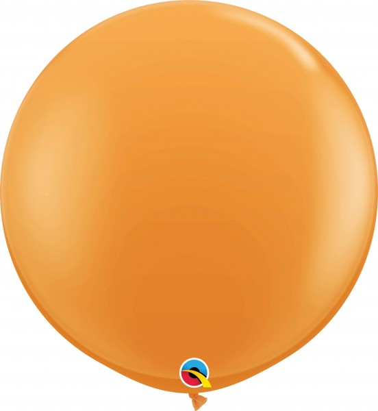 Qualatex Latexballon Standard Orange 90cm/3' 2 Stück