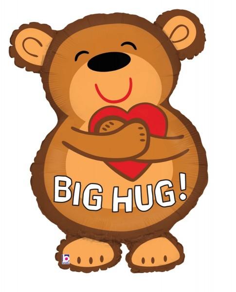 "Betallic Folienballon Big Hug Bear 71cm/28"""