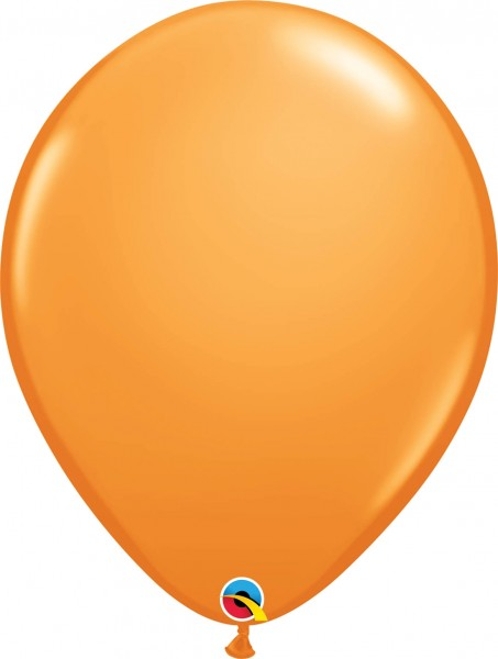 "Qualatex Latexballon Standard Orange 40cm/16"" 50 Stück"