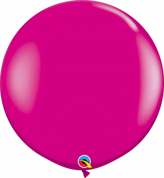 Qualatex Latexballon Fashion Wild Berry 90cm/3' 2 Stück