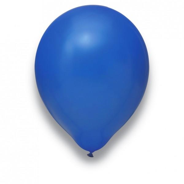 "Globos Luftballons Royalblau Naturlatex 30cm/12"" 100er Packung"