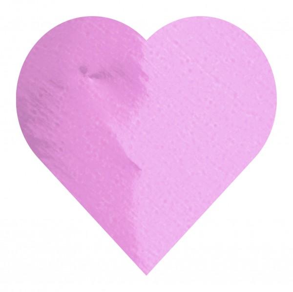 Goodtimes Folienkonfetti 3cm Herz 1kg Pink
