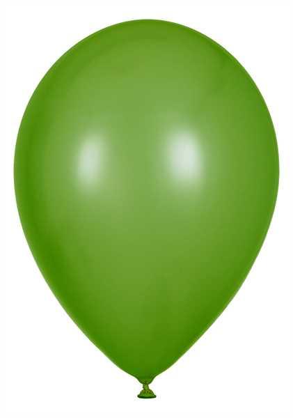 Latex Luftballons, Limongrün, 30cm Ø, 100 Stück