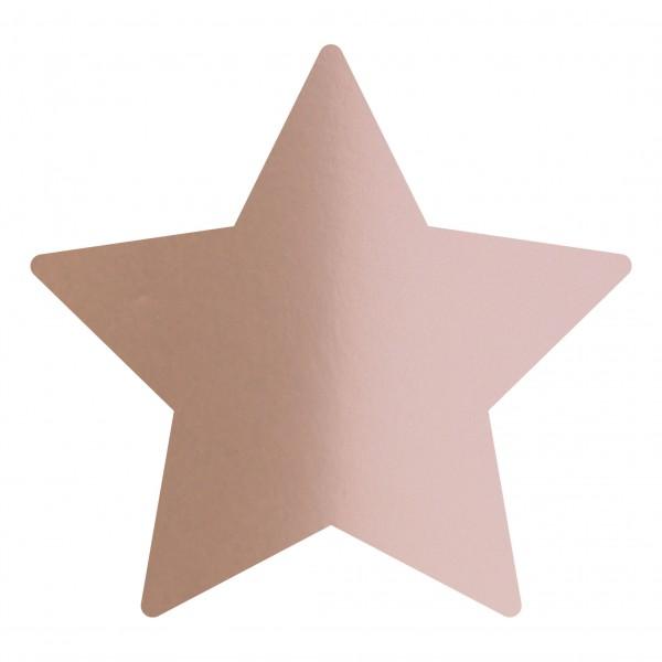 Goodtimes Folienkonfetti 1,7cm Stern 100g Rosegold