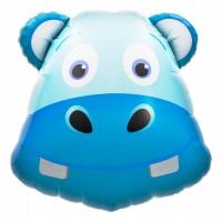 "Northstar Folienballon Hippo Head 28"""