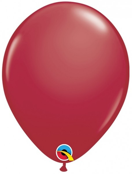 "Qualatex Latexballon Fashion Maroon 28cm/11"" 100 Stück"