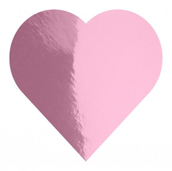 Goodtimes Folienkonfetti 3cm Herz 100g Rosa