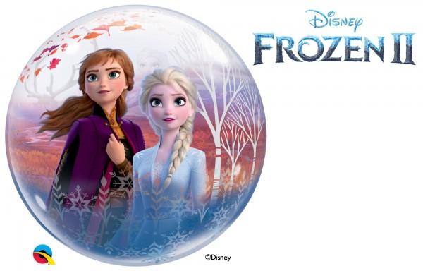 """Qualatex Bubbles Frozen 2 56cm/22"""""""