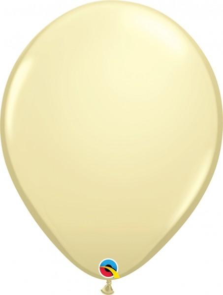 "Qualatex Latexballon Fashion Ivory Silk 40cm/16"" 50 Stück"