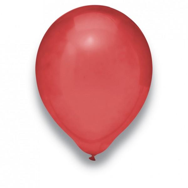 """Globos Luftballons Kristall Burgund Naturlatex 30cm/12"""" 100er Packung"""