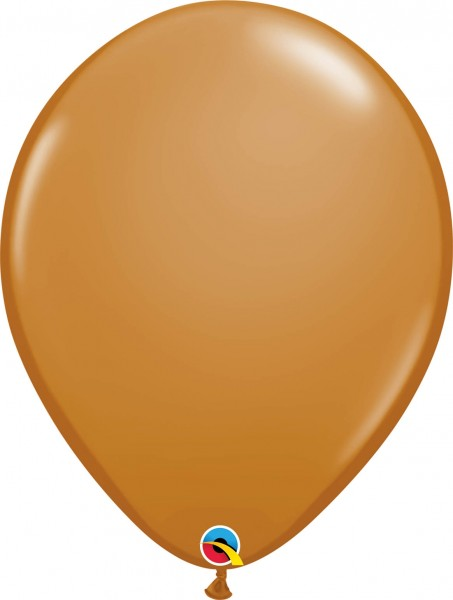 "Qualatex Latexballon Fashion Mocha Brown 40cm/16"" 50 Stück"