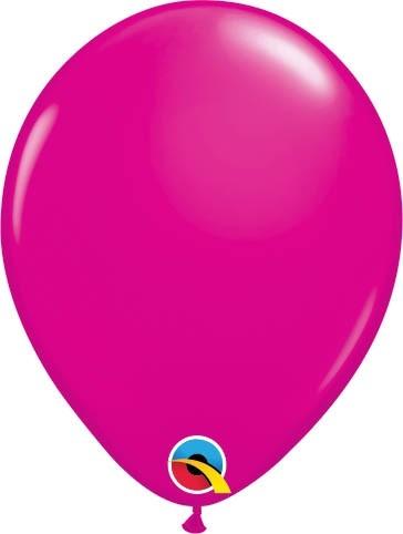 "Qualatex Latexballon Fashion Wild Berry 13cm/5"" 100 Stück"