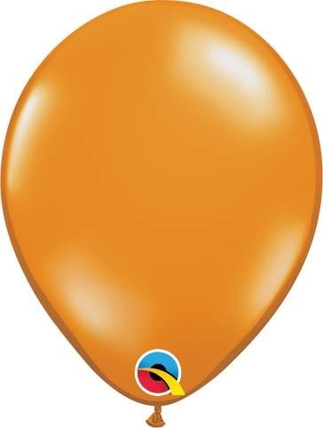 "Qualatex Latexballon Jewel Mandarin Orange 13cm/5"" 100 Stück"