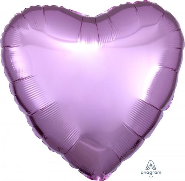 "Anagram Folienballon Herz Pearl Pastel Pink 45cm/18"""