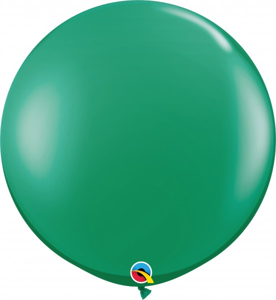 Qualatex Latexballon Jewel Emerald Green 90cm/3' 2 Stück