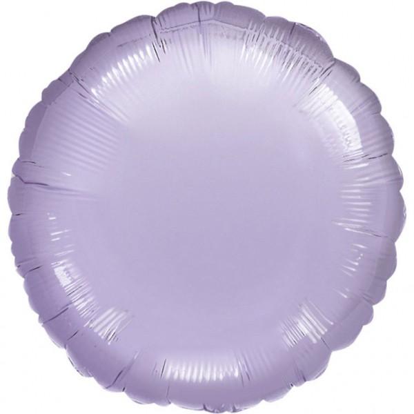 "Anagram Folienballon Rund Metallic Pearl Pastel Lilac 45cm/18"""