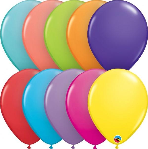 "Qualatex Latexballon Mix 28cm/11"" 6 Stück"
