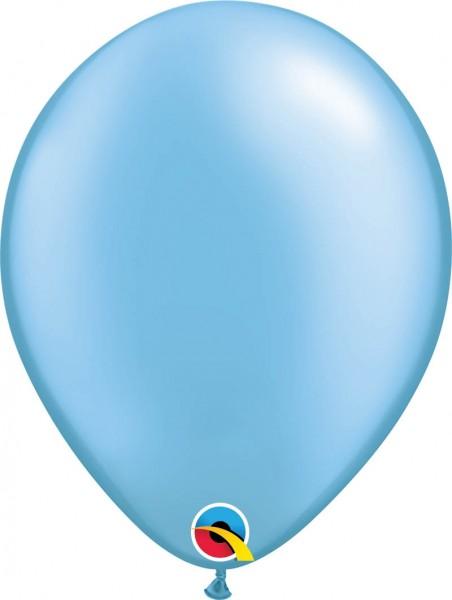 "Qualatex Latexballon Pastel Pearl Azure 28cm/11"" 100 Stück"