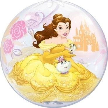 """Qualatex Bubbles Disney Princess Belle 55cm/22"""""""