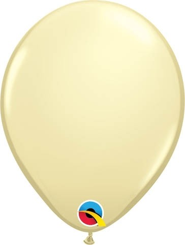 "Qualatex Latexballon Fashion Ivory Silk 13cm/5"" 100 Stück"