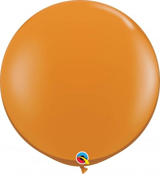 Qualatex Latexballon Jewel Mandarin Orange 90cm/3' 2 Stück