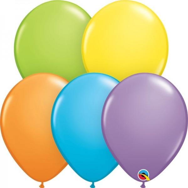 "Qualatex Latexballon Brigth Pastell Assortment 28cm/11"" 100 Stück"
